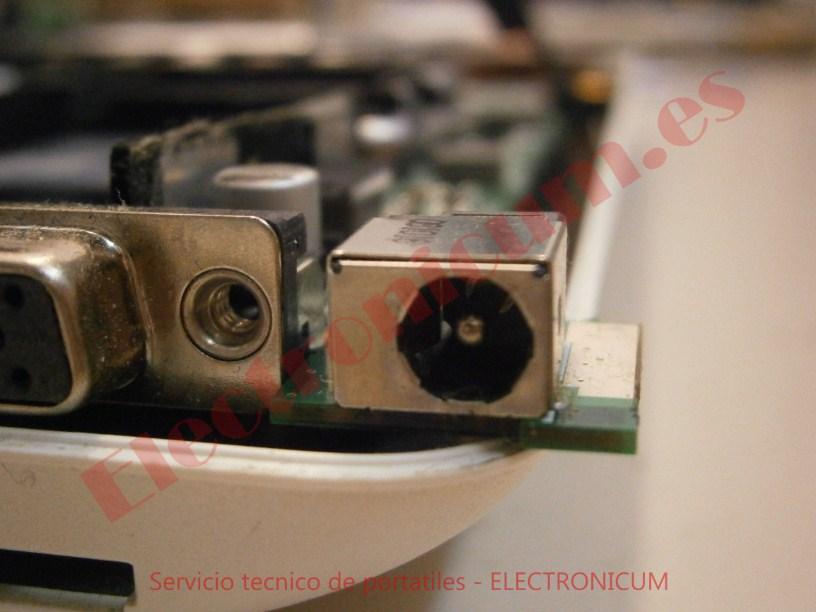 conector dc jack Acer Aspire One Zg5
