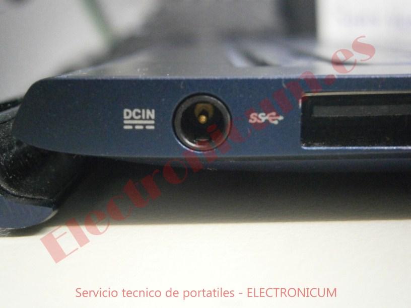 conector dc jack Asus UX301L