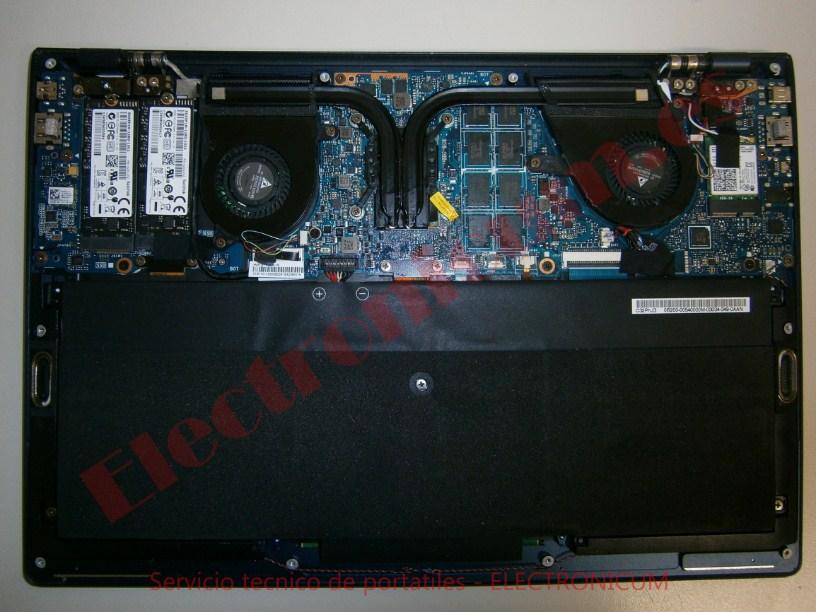 desmontar Asus UX301L