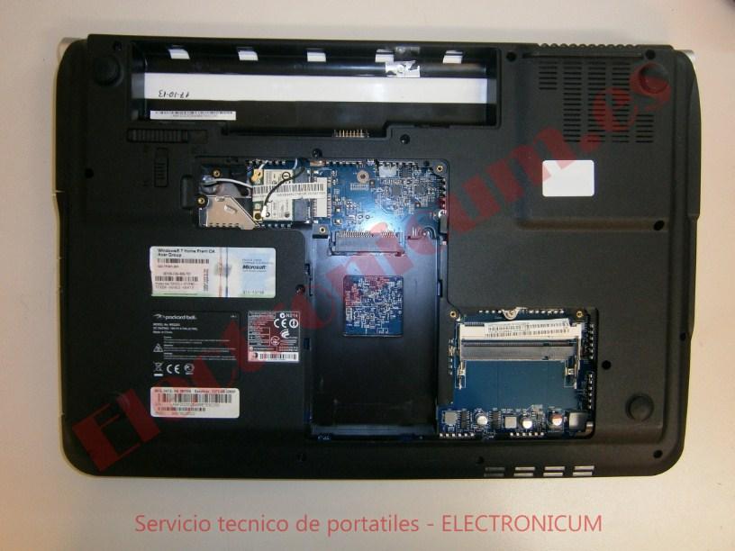 desmontar Packard Bell TJ72 MS2285