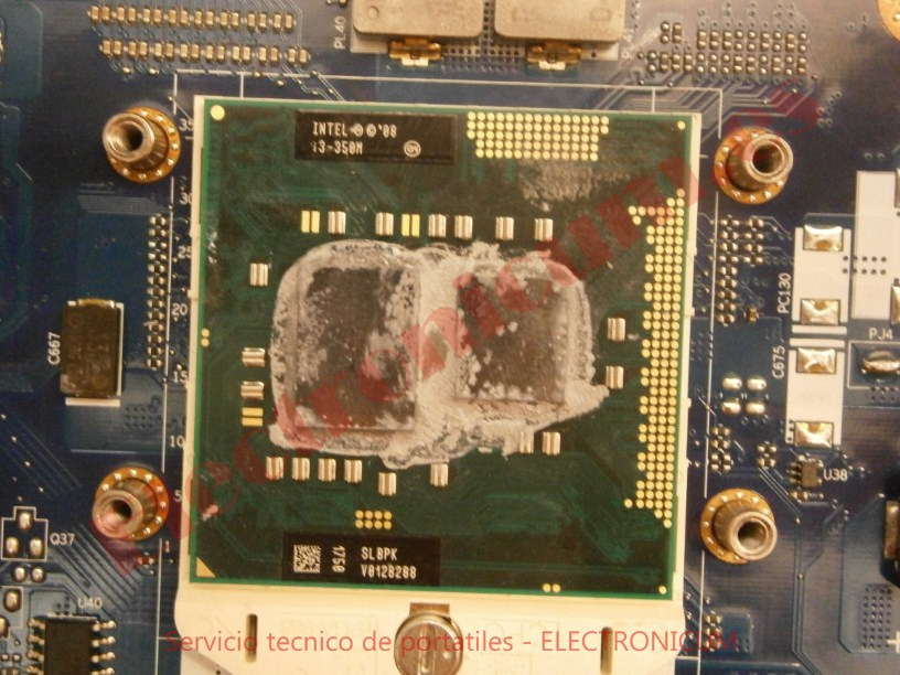 micro CPU Acer Aspire 5741