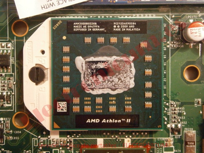microprocesador HP DV6-2026