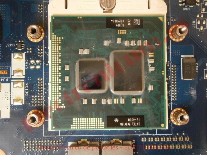 microprocesador Packard Bell NEW91