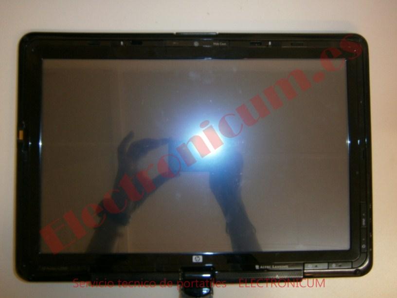 pantalla HP TX2500