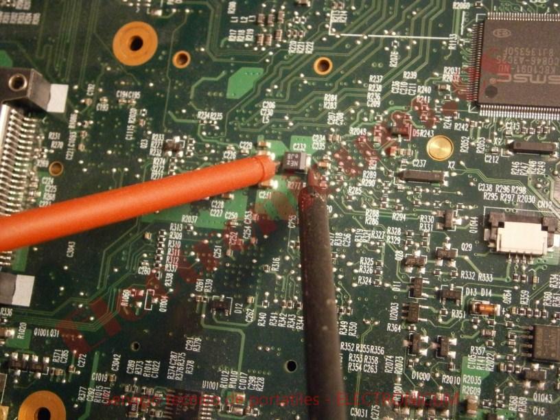 reparacion de portatil HP Compaq