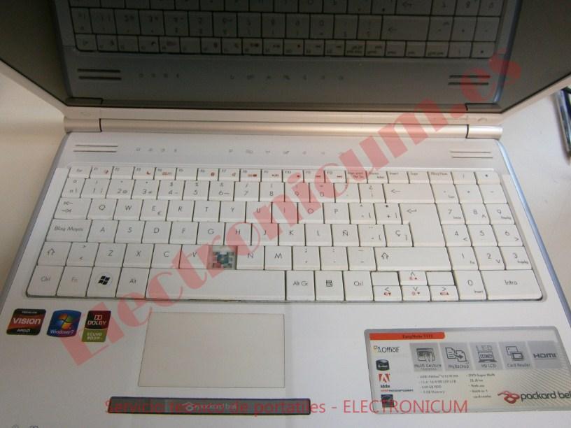 reparar Packard Bell MS2285