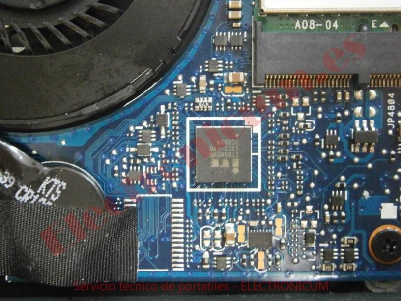 reparar corto Asus UX301L