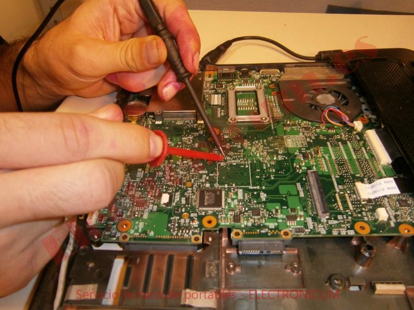 reparar placa base HP Compaq 6730s