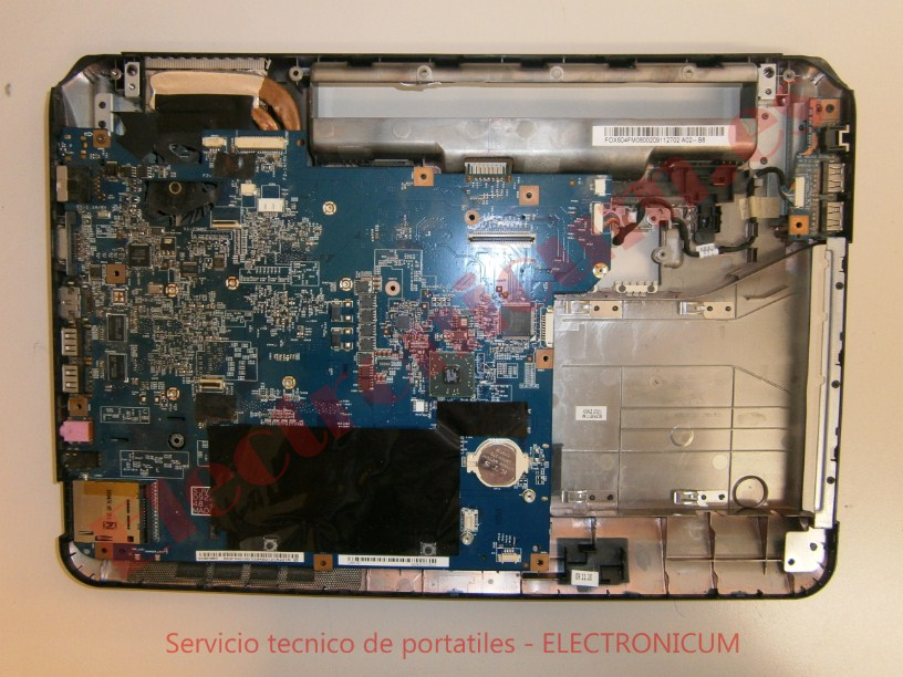 reparar placa base Packard Bell MS2285