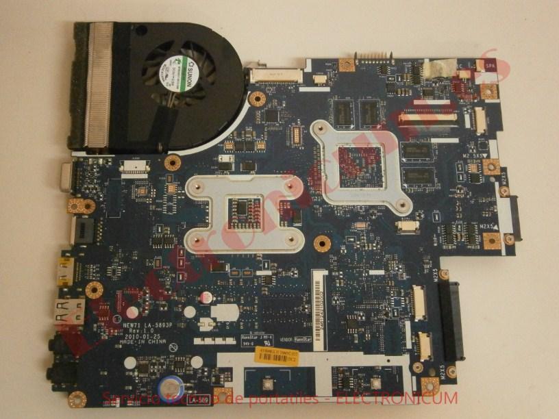 reparar placa base Packard Bell NEW91
