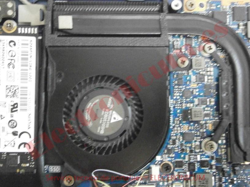 ventilador Asus UX301L