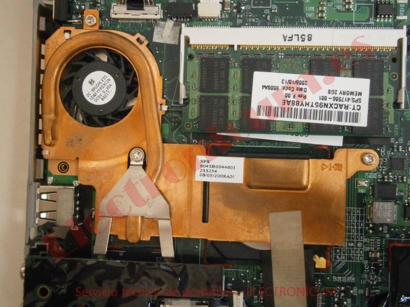 ventilador HP mini 2133