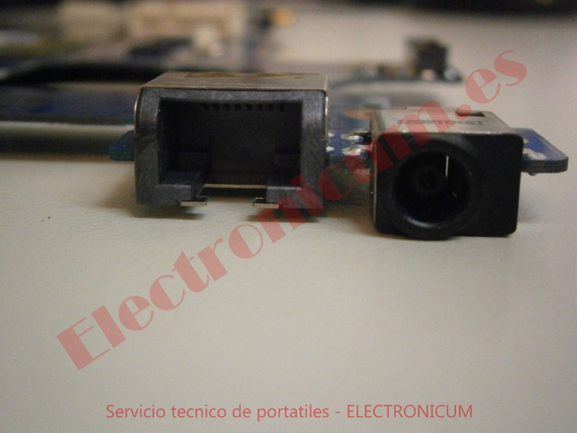 conector dc jack Samsung 300E