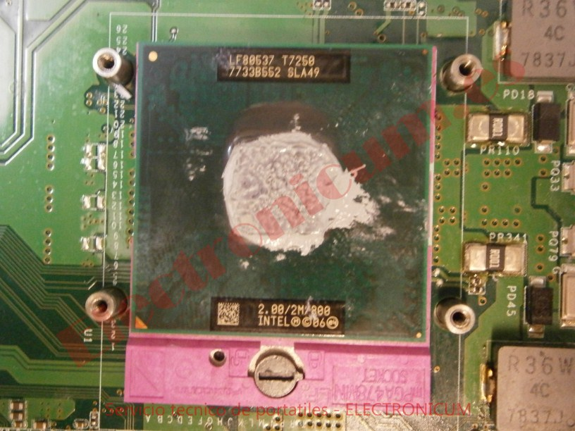 cpu Sony Vaio PCG-8Z1M