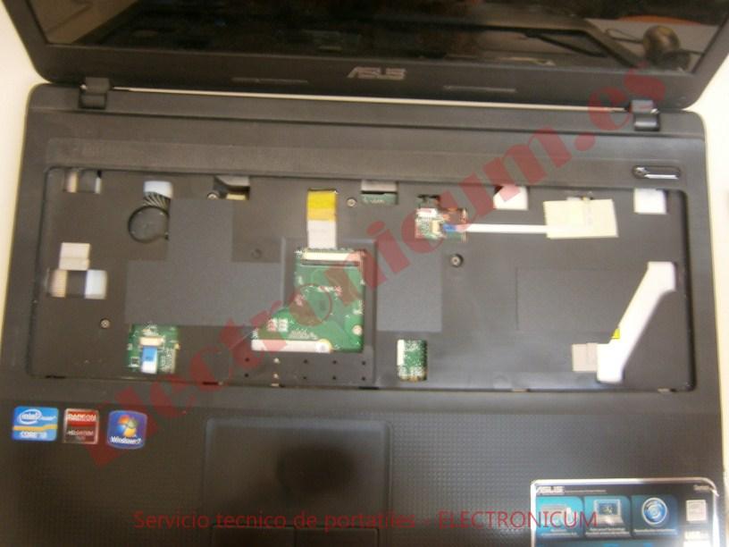 desmontar Asus X54H portatil