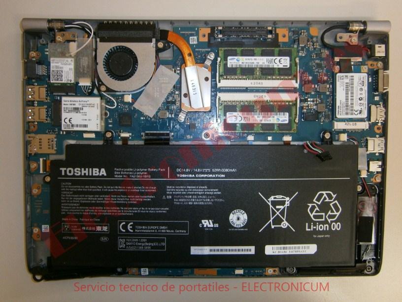 desmontar Toshiba Portege Z30