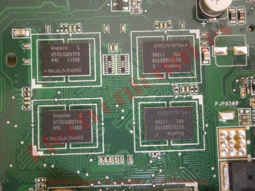 memoria grafica Asus X54H