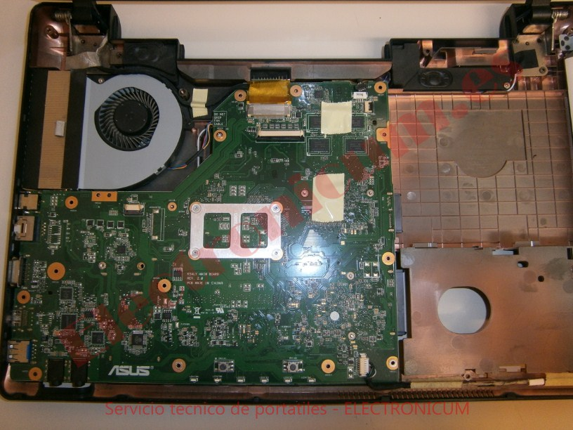 placa base Asus X54H
