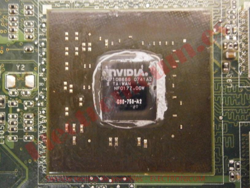 reballing grafica Sony Vaio PCG-8Z1M
