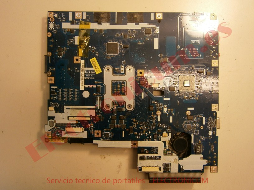 reparar placa base Acer Aspire 5532