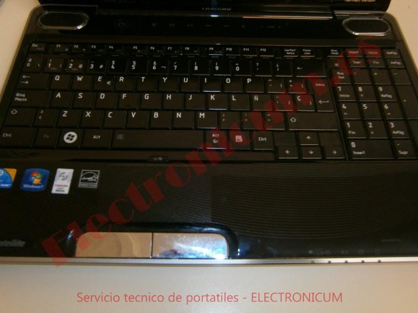 teclado Toshiba Satellite A500