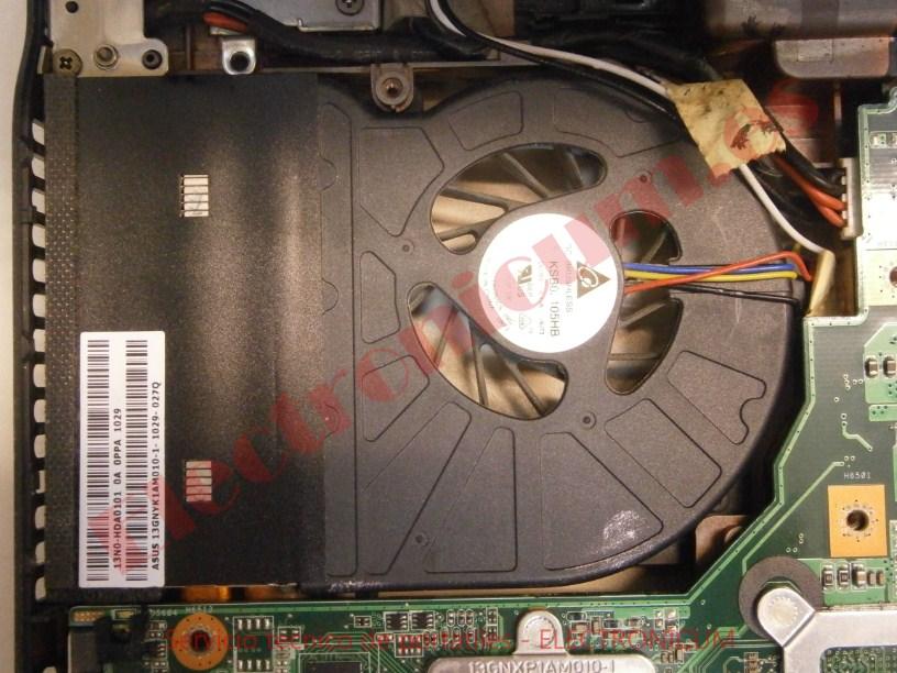 ventilador Asus N61J