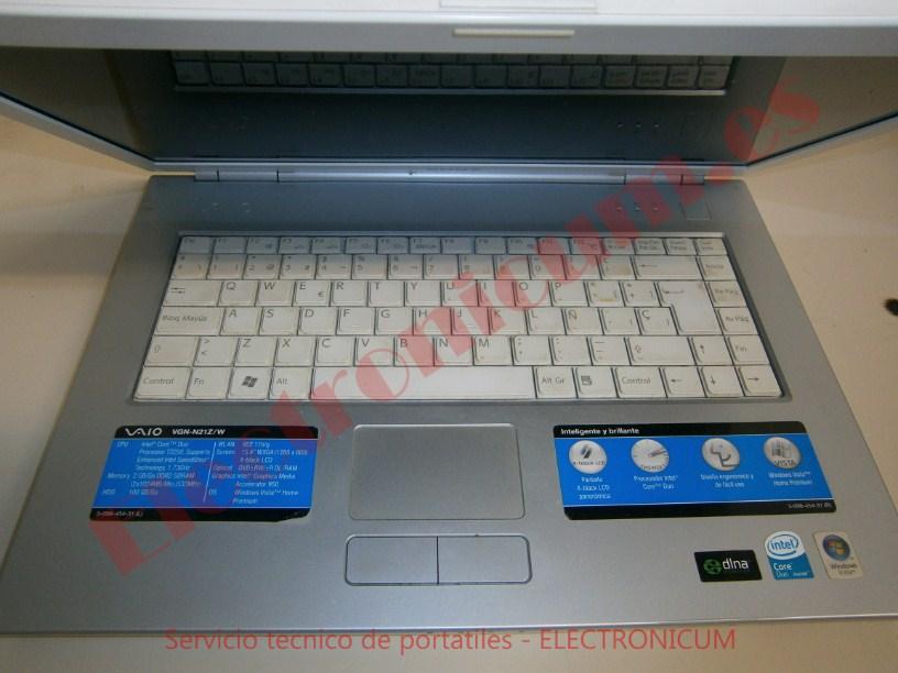 Sony Vaio VGN-N21Z