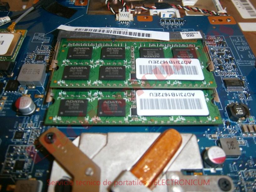 cambiar memoria Sony Vaio PCG-71511M