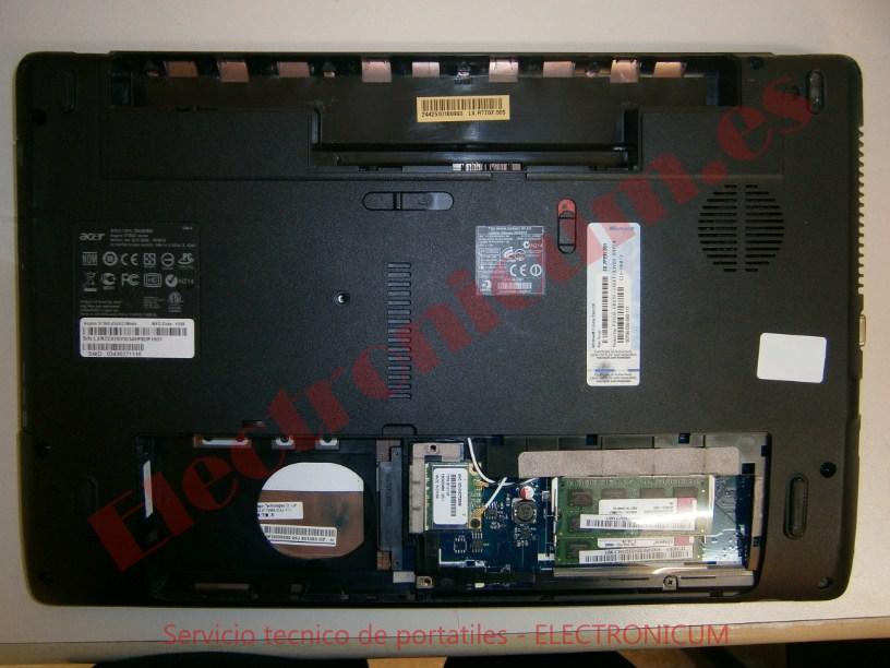 desmontar Acer Aspire 5736Z