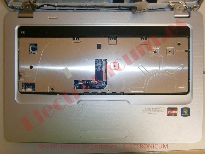 desmontar HP G62