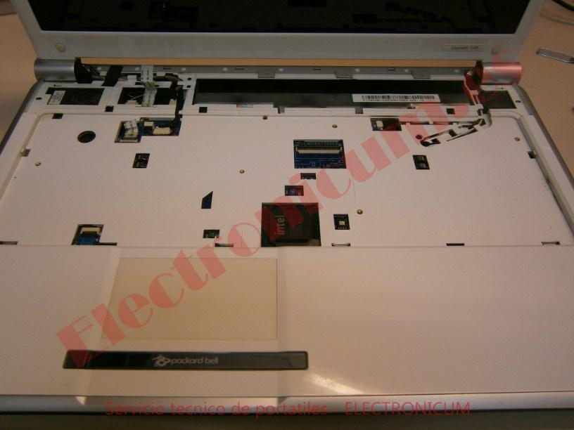 desmontar Packard Bell MS2273