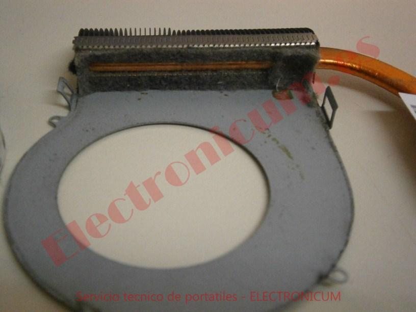 limpiar ventilador HP Pavilion g6