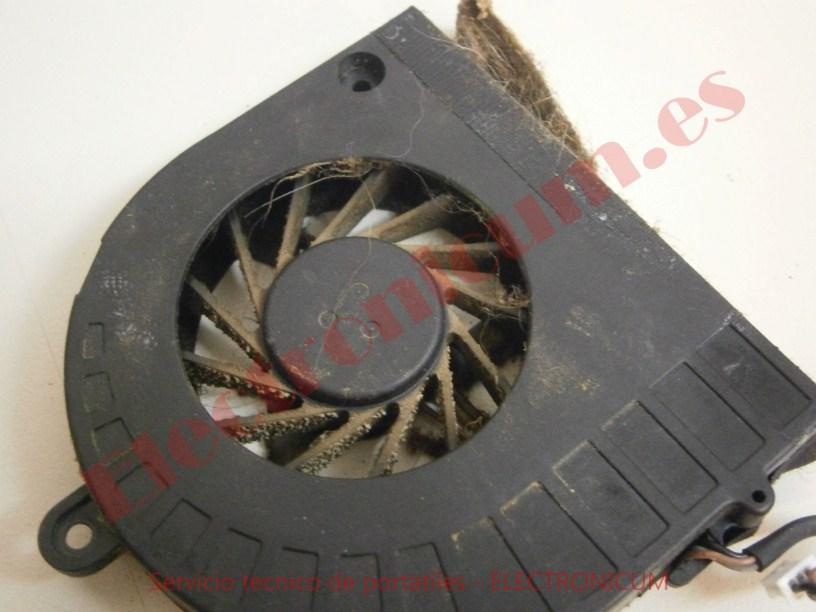 limpiar ventilador Packard Bell NEW91