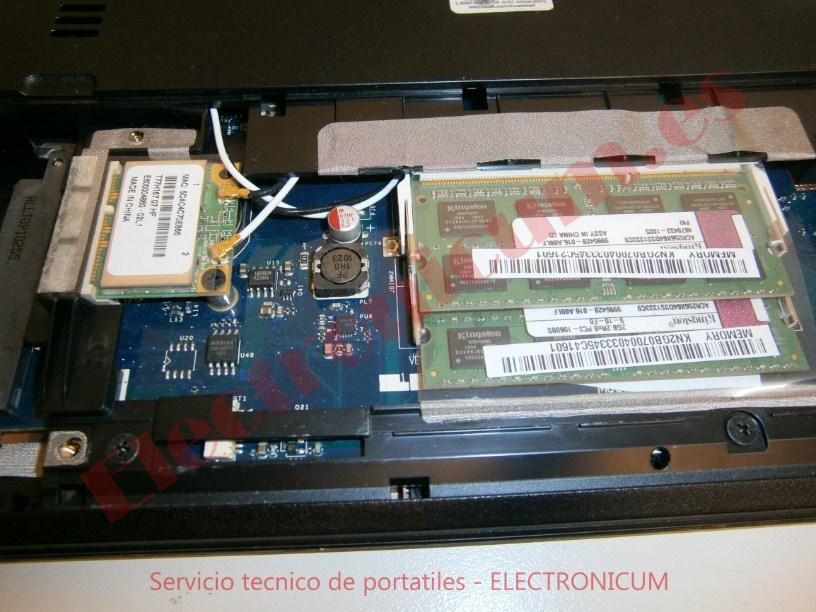 memoria Acer Aspire 5736Z