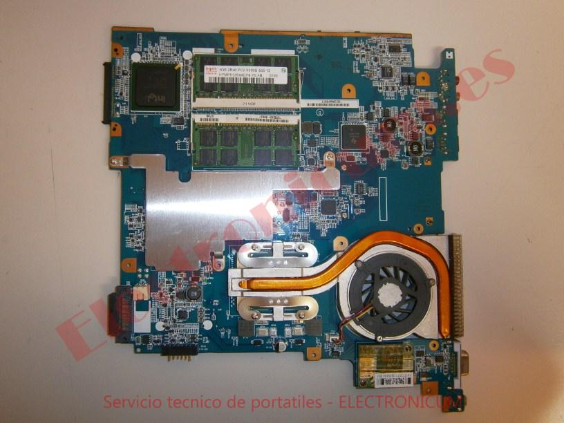 placa base Sony Vaio VGN-N21Z