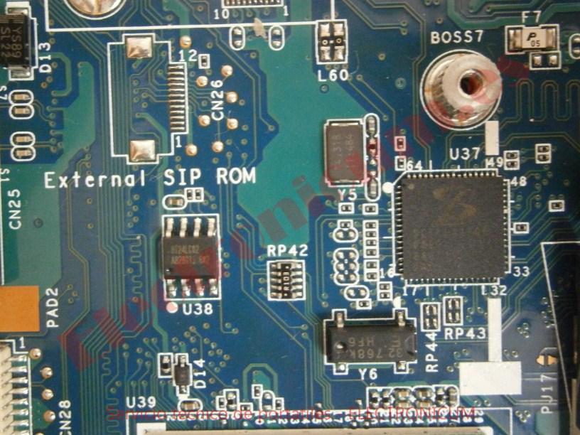 reparar corto Sony Vaio PCG-7141M