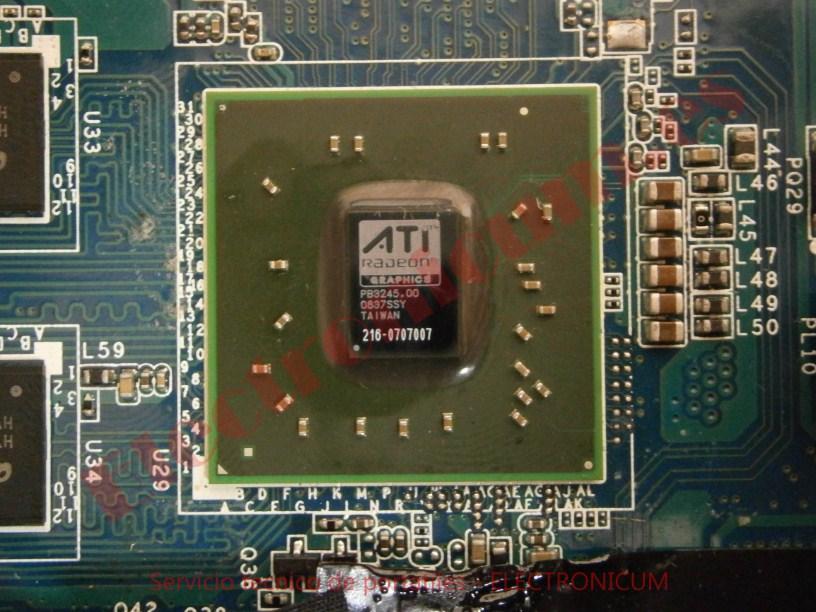 reparar grafica Sony Vaio PCG-7141M