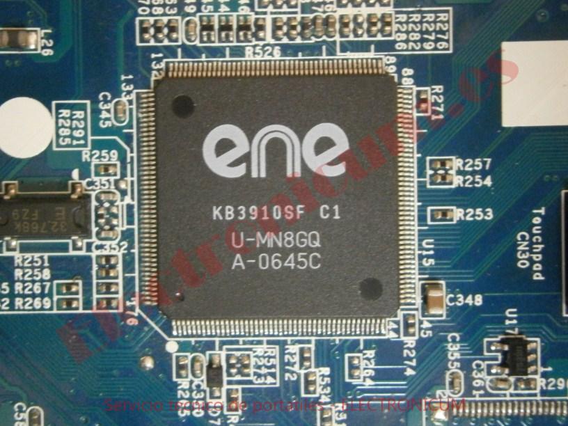 reparar kbc Sony Vaio VGN-N21Z