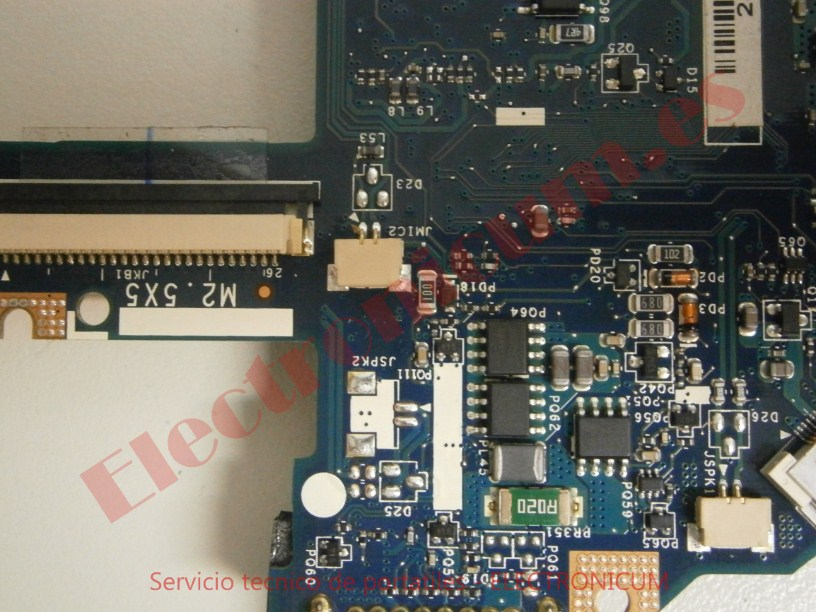 reparar placa base Acer Aspire 5742