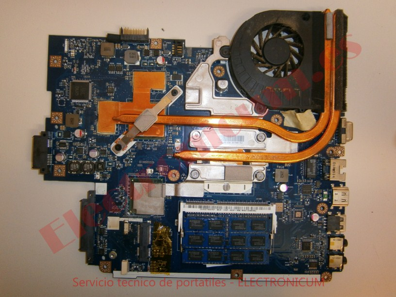 reparar placa base Packard Bell NEW91