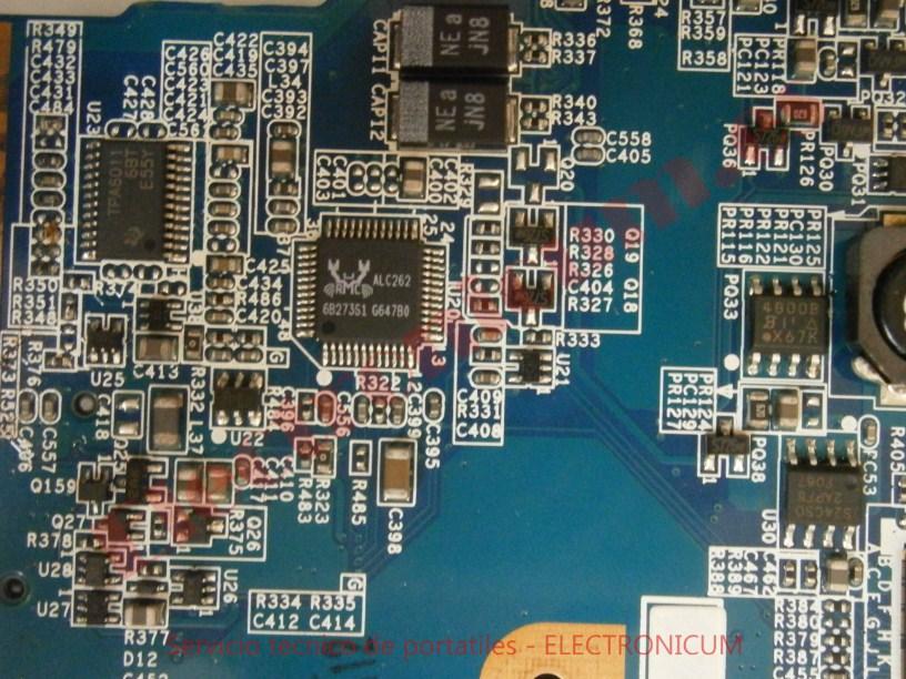 reparar placa baser Sony Vaio VGN-N21Z