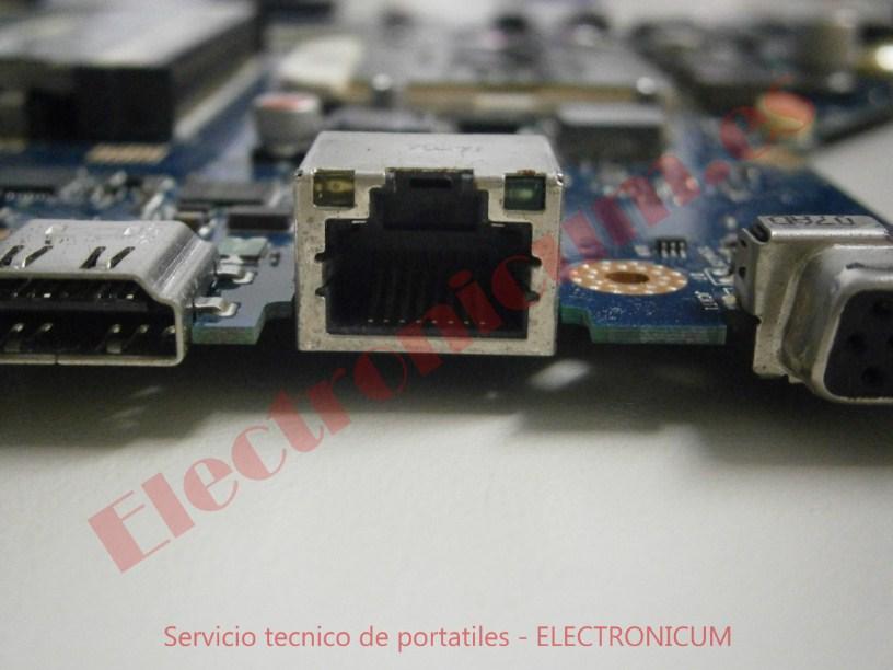 tarjeta red Acer Aspire 5742