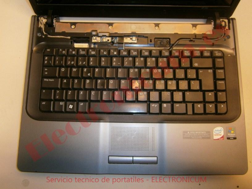 teclado HP 530