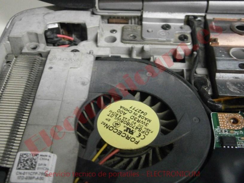 ventilador Dell Latitude P15F