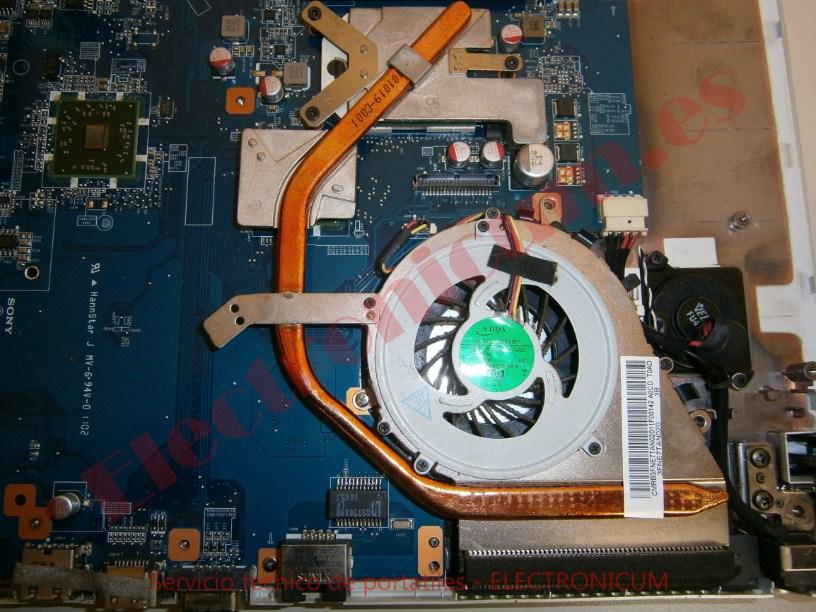 ventilador Sony Vaio PCG-71511M