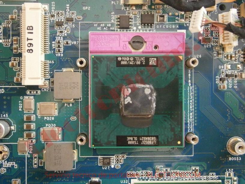 cpu Sony VGN NS11Z