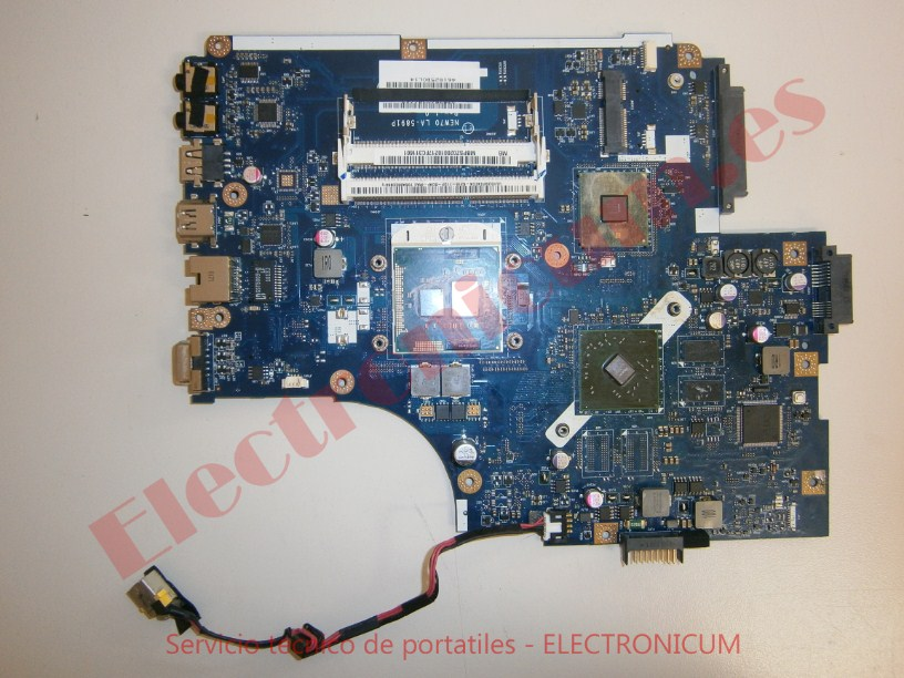 reparar placa base Acer Aspire 5741G