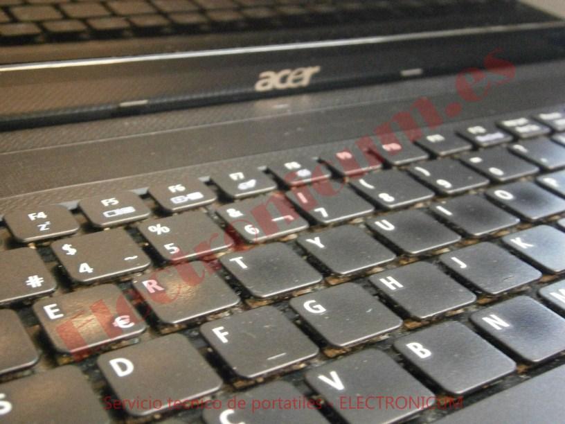 teclado Acer Aspire