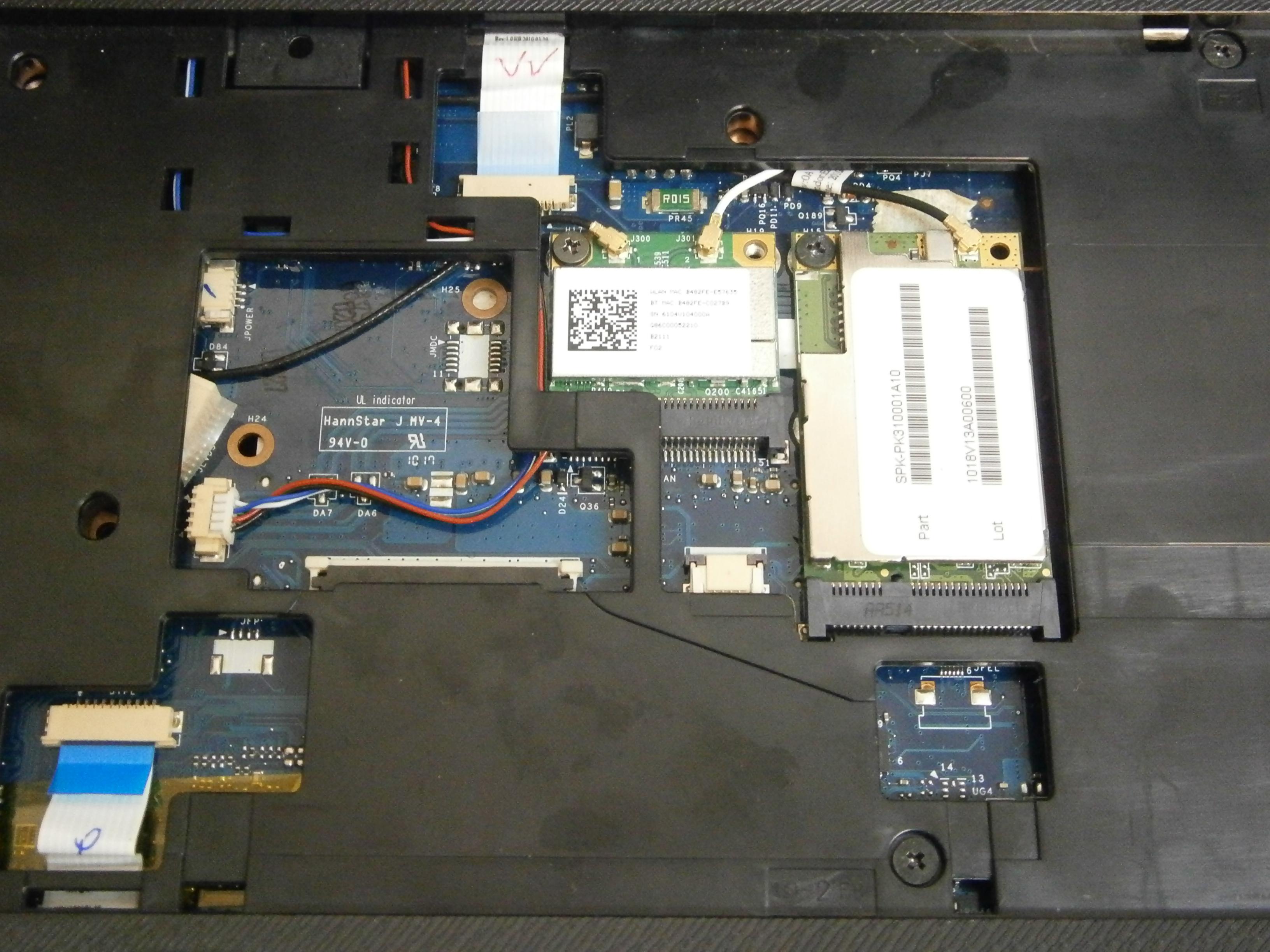 wifi Toshiba Satellite A660