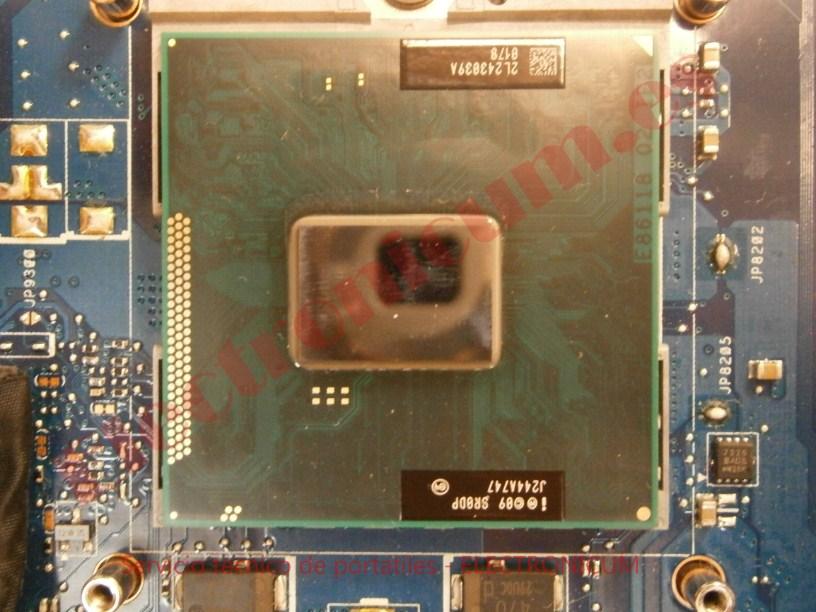 CPU Toshiba Satellite C855-21M